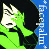 Havoc: shego facepalm