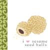 food - sesame balls