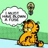 Jess: Garfield - Blown a fuse
