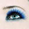 slinkling: blue eye