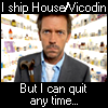 House/Vicodin 'Ship