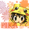 Cute Pikachu Satoshi
