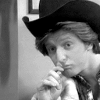 WKRP--Andy thoughtful/goofy