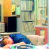 WKRP--Johnny asleep at the board.