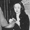Knitting morticia