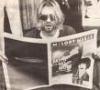 Cobaine & newspaper