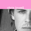 Stef: Chris Lowell - Pink