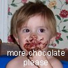 patron saint of neglected female characters: chocolate plz