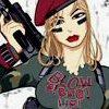 å Mitt ! Hvilke store tennene du har, Herr Ulv.: Army Girl