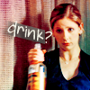 Frances: Buffy - drink?