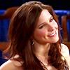 Sasha Hoffman: bright smile.