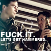 Fuck it. Let's get hammered.