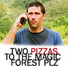 Lost: two pizzas