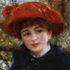 Renoir girl