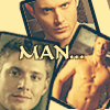 nairie: Dean - man ...