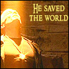 Saved the world.