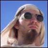 Burning Man bomber glasses