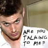Malin: talking to me?!