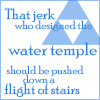 Zelda - Water Temple Blows