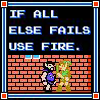 Zelda - If all else fails use fire