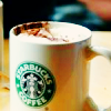 Stock-Starbucks hot coffee