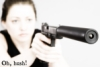 Gun girl, Hush