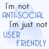 Quote-I'm not anti-social