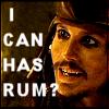 Ninjababe: PotC-Jack-Rum