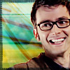 dr who - tenth glasses smiling