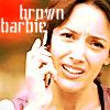 brown barbie