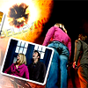 A Guy Named Goo: Doctor Who Ten/Rose 1 by space_grapics