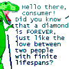 diamonds are forever - dino