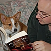 Lucy & I Reading