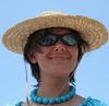 Summer in hat