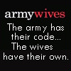 Tricia: armywives