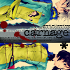 The Queen of Lame and Typo Errors.: haine/naoto; carnage