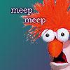 muppetology beaker meep meep