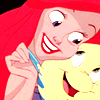 Disney: Ariel/Flounder Happy