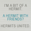 Robyn Goodfellow: hermits united