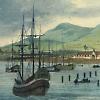 Ships in bay