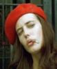 шапочка, красная