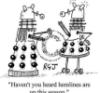 The sociable recluse: Daleks