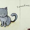 Jacqueline: art kh kitty sometimes
