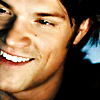 I can read Sam's mind: Jared Show Off the Dimples