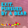 exit, pursued by bear