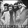 randomposting: thumbs up - beatles