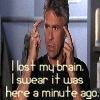 Michelle: lost brain