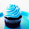 Nicosian: blue cupcake
