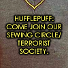 knitting, hufflepuff