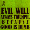 Carrie Leigh: Evil will triumph